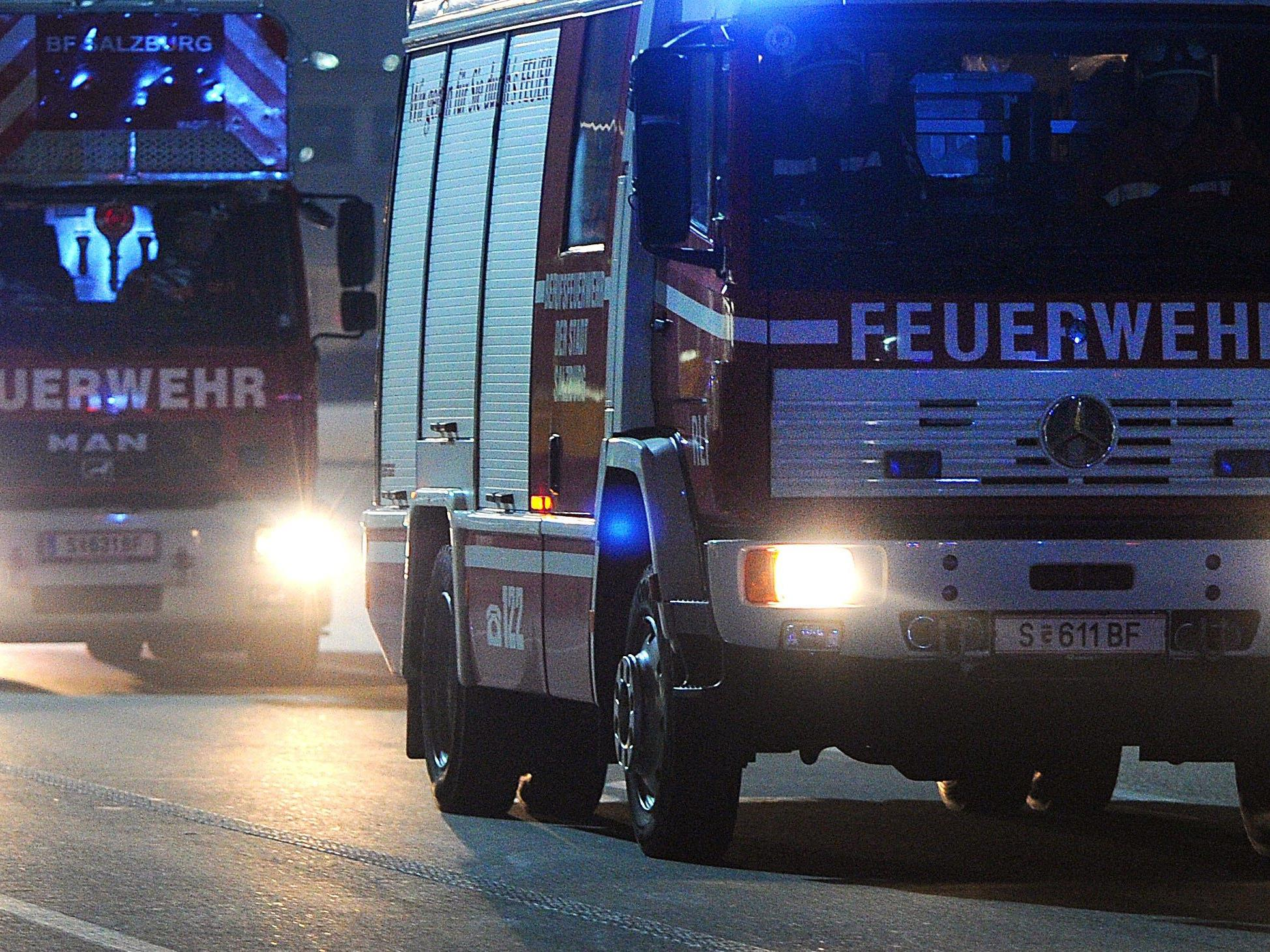 60 Einsätze fuhren die niederösterreichischen Feuerwehren zu Silvester.