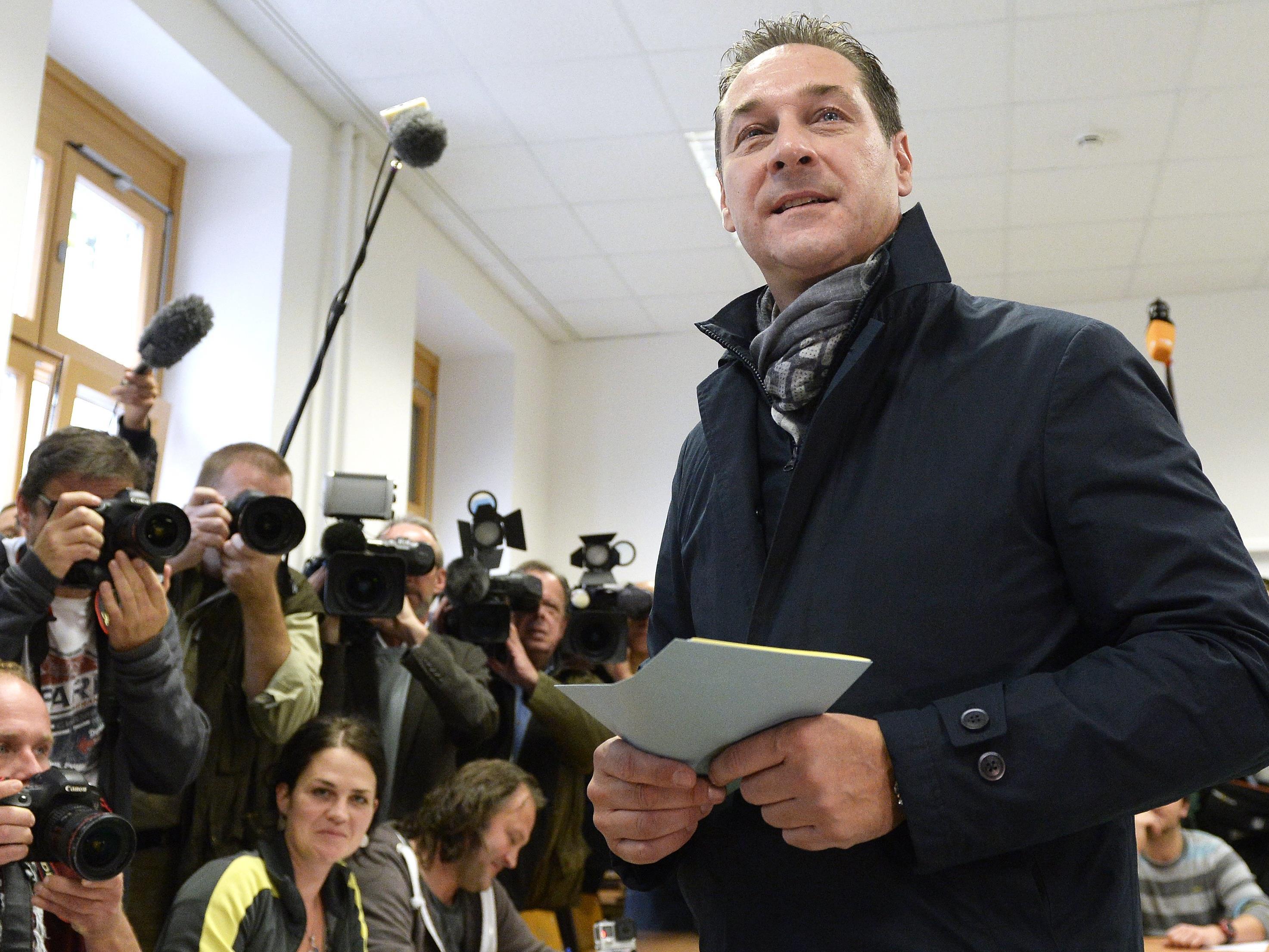 HC Strache wird im April nicht kandidieren.