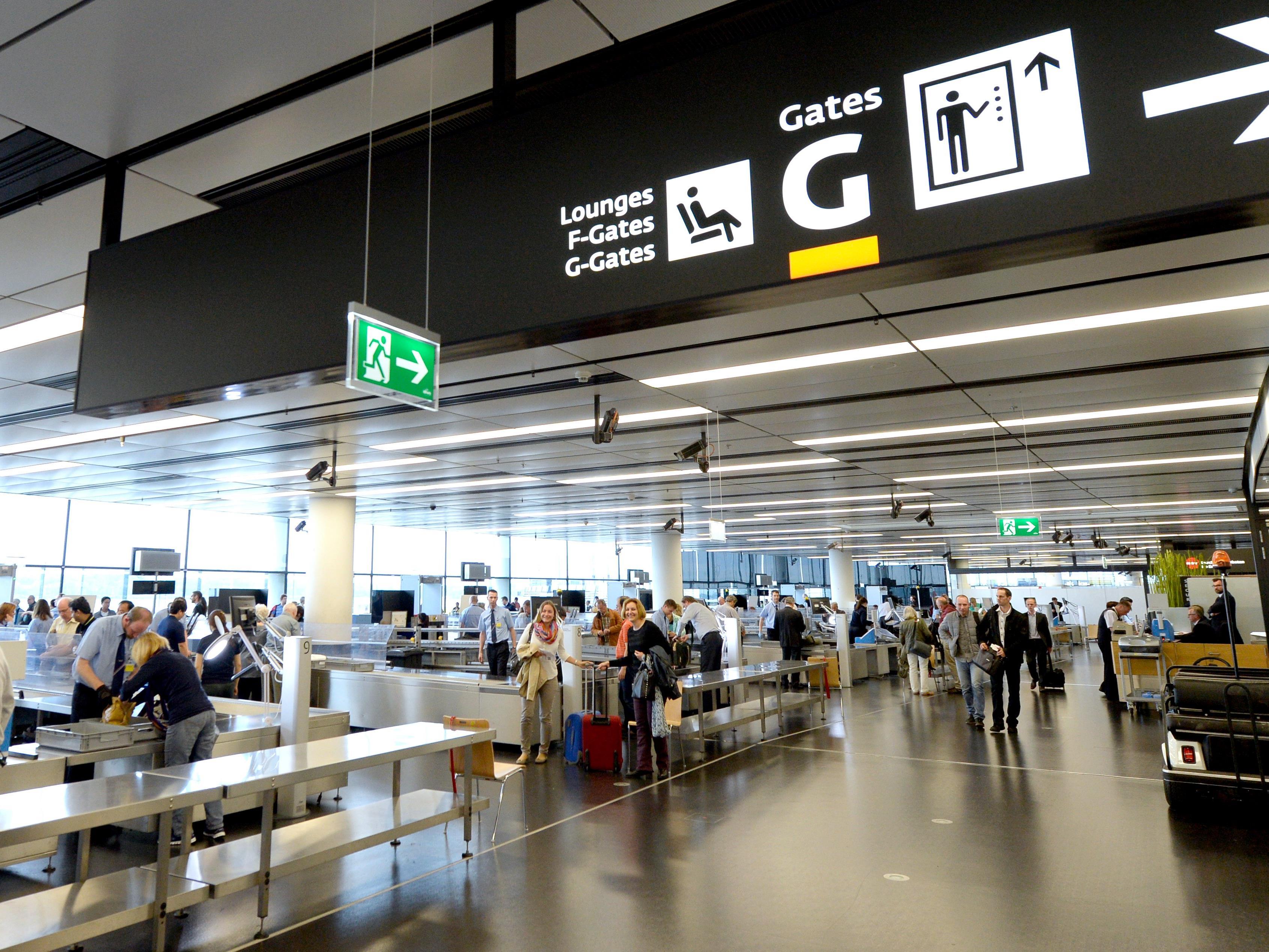 Die Fahrt zum Flughafen wird am Wochenende länger dauern.