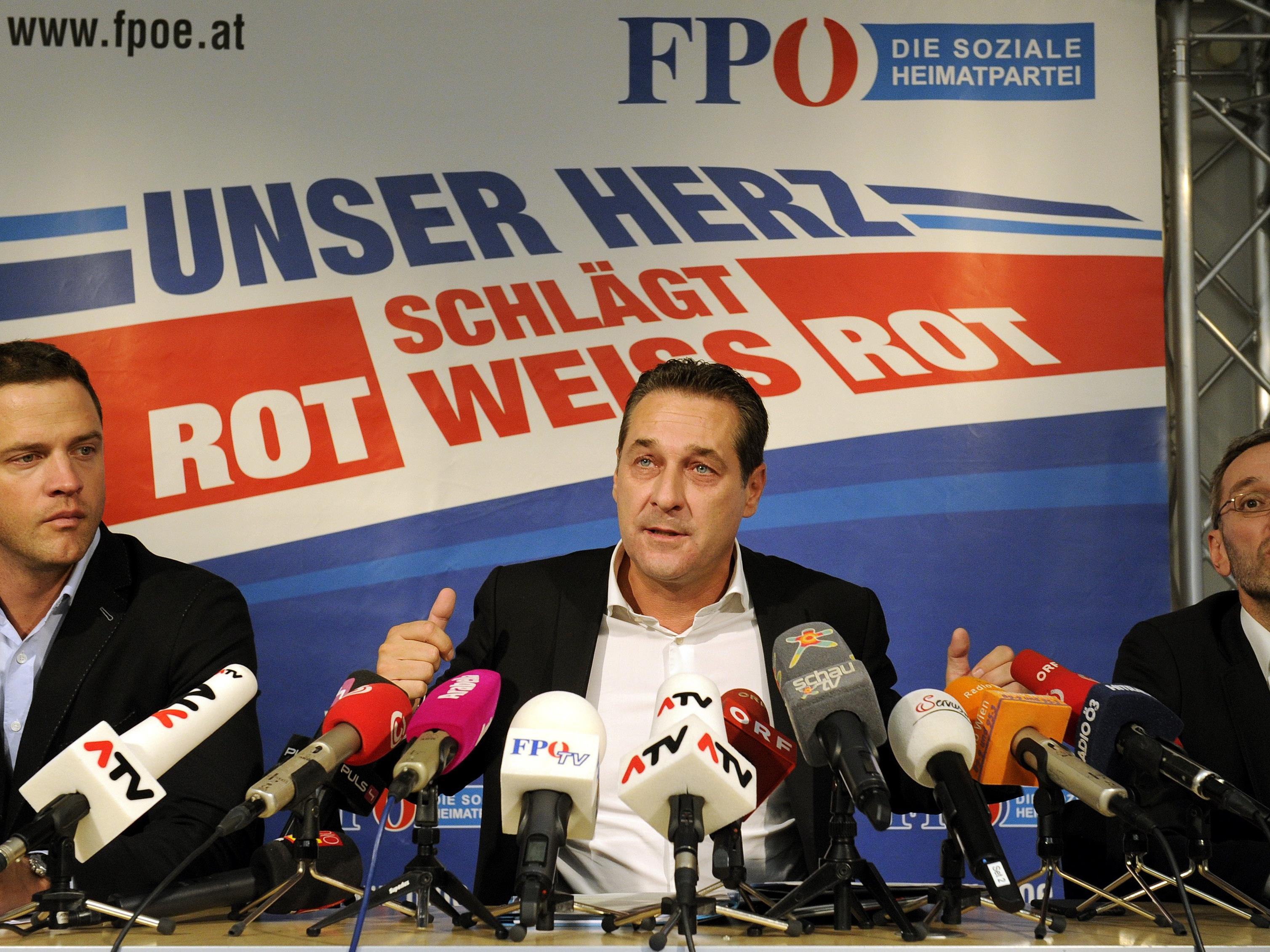 Johann Gudenus (l.) ist einer der möglichen FPÖ-Kandidaten.