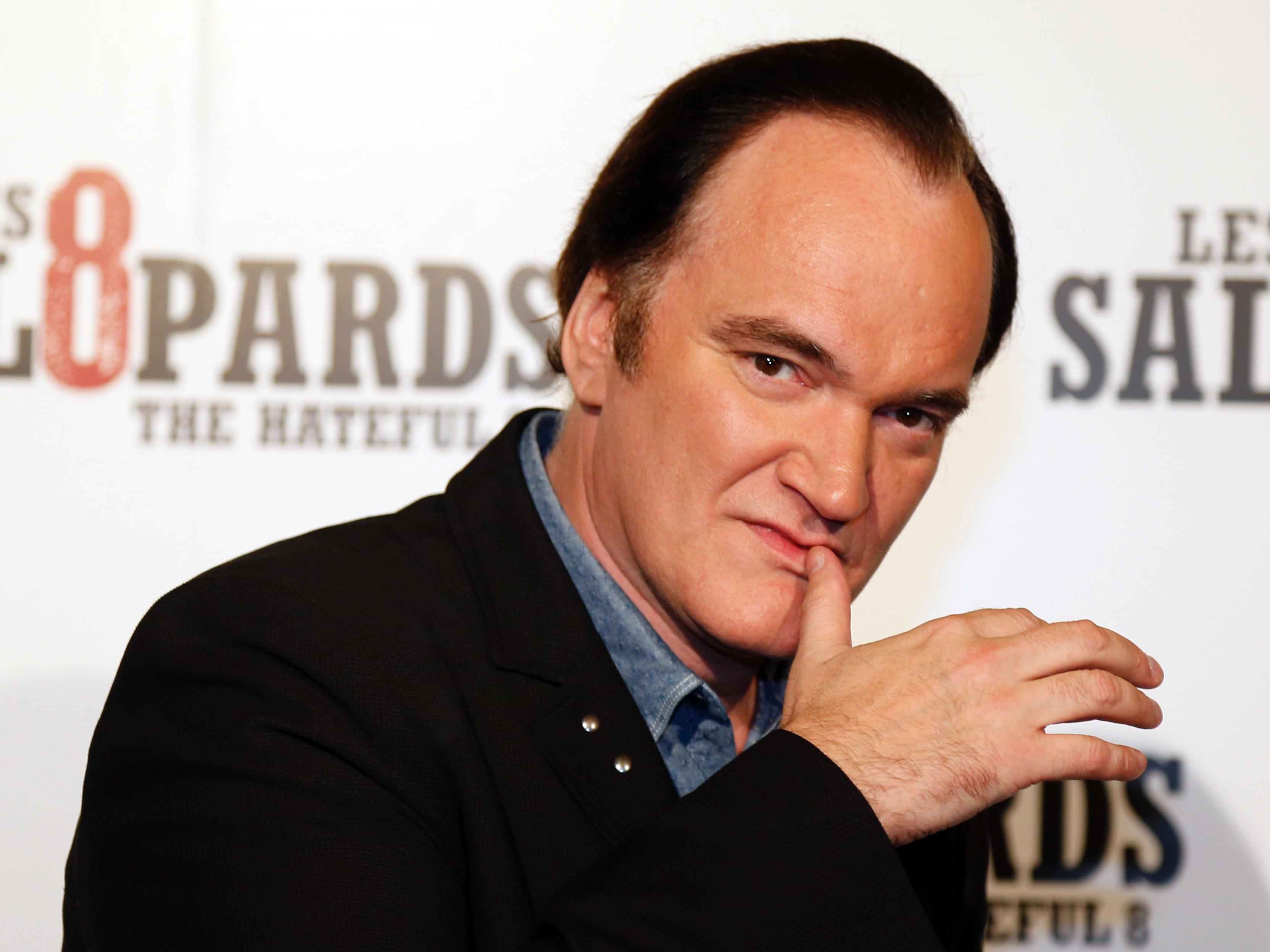 Tarantino hat sich als Regisseur einen Namen gemacht