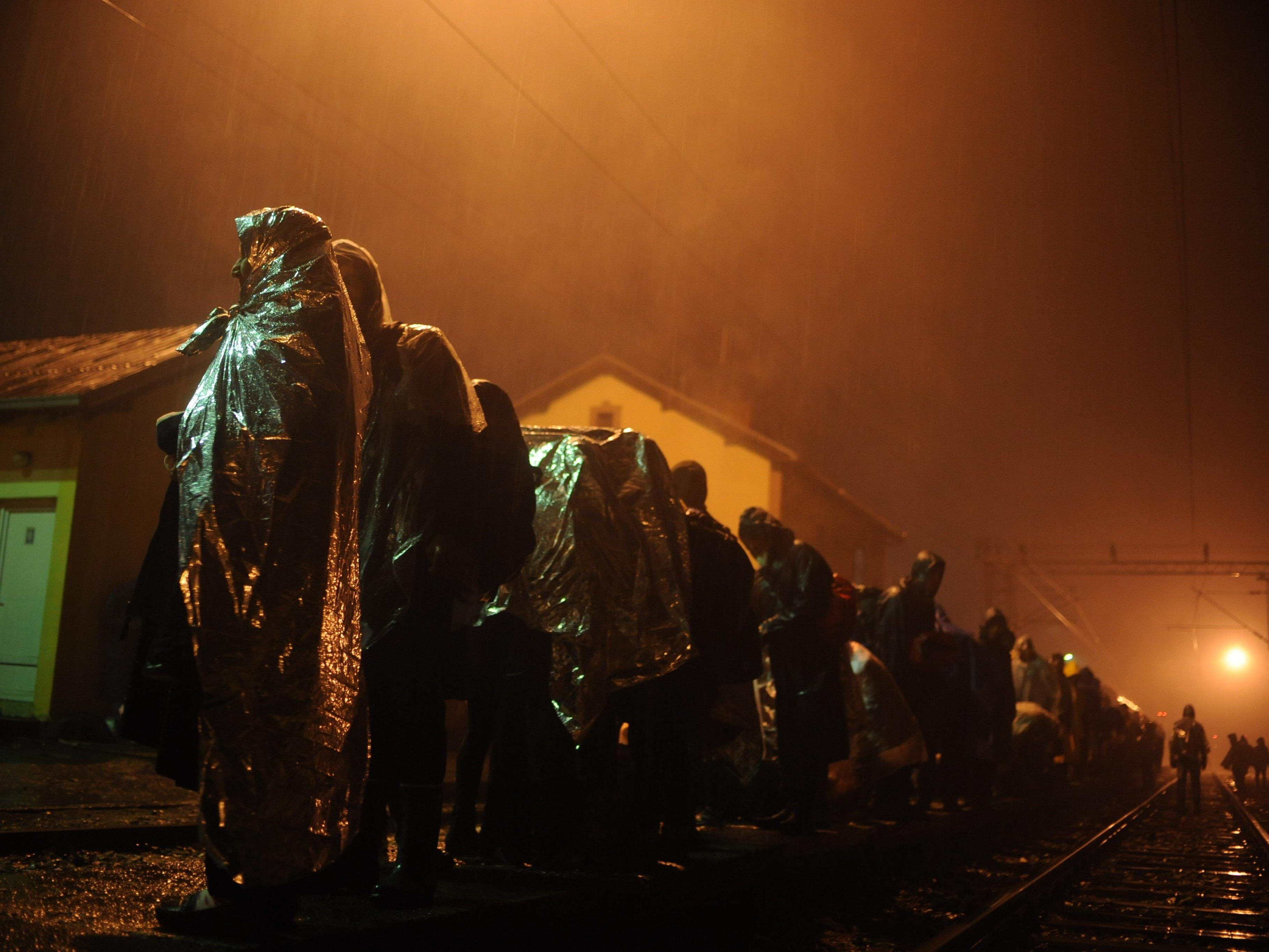 Die Flüchtlingskrise in Europa geht weiter