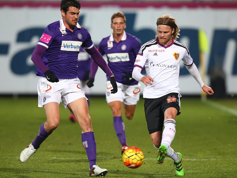 Austria Wien gewinnt Testspiel gegen FC Basel.