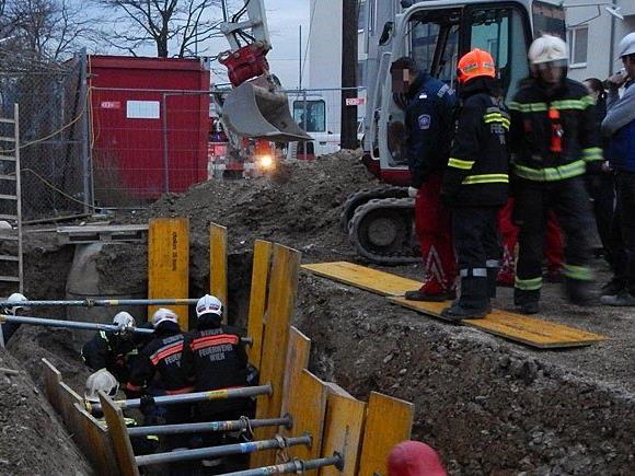 Beim Einsatz in Donaustadt