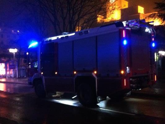 Bei der U1-Station Reumannplatz brannte ein Mistkübel.