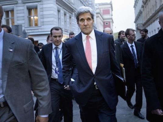 Erneut in Wien: US-Außenminister John Kerry