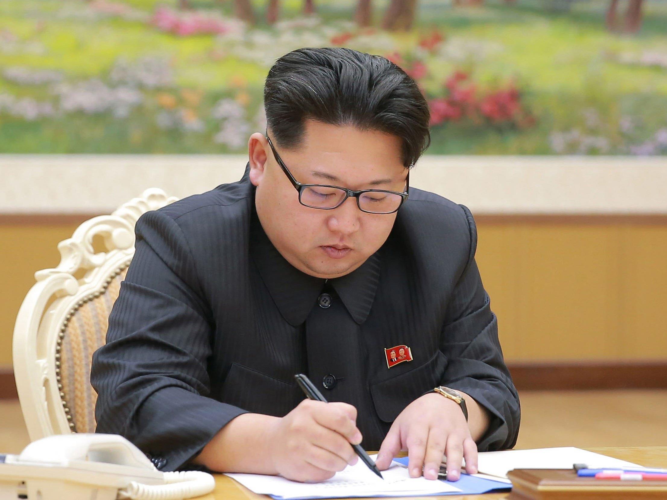 Nordkoreas Machthaber will Wasserstoffbombe gezündet haben.