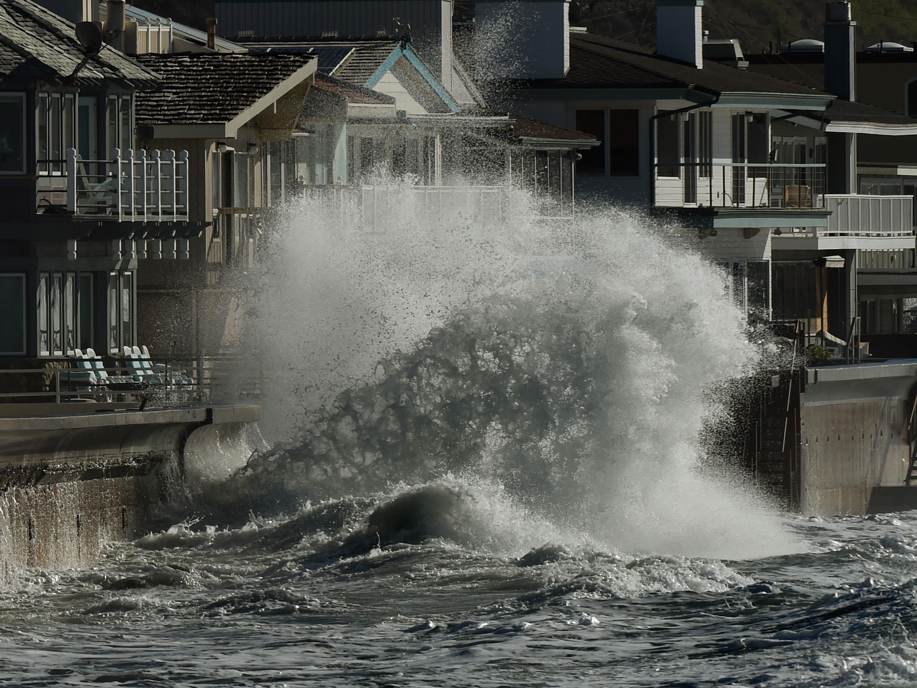 El Nino brachte dürregeplagtem Kalifornien starke Regenfälle.