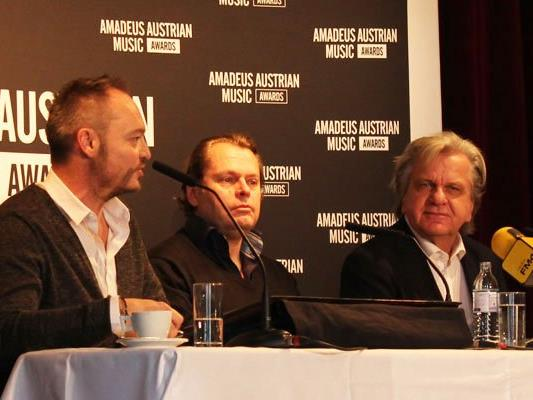 Bei der Amadeus-Pressekonferenz wurden die diesjährigen Nominierten verkündet.