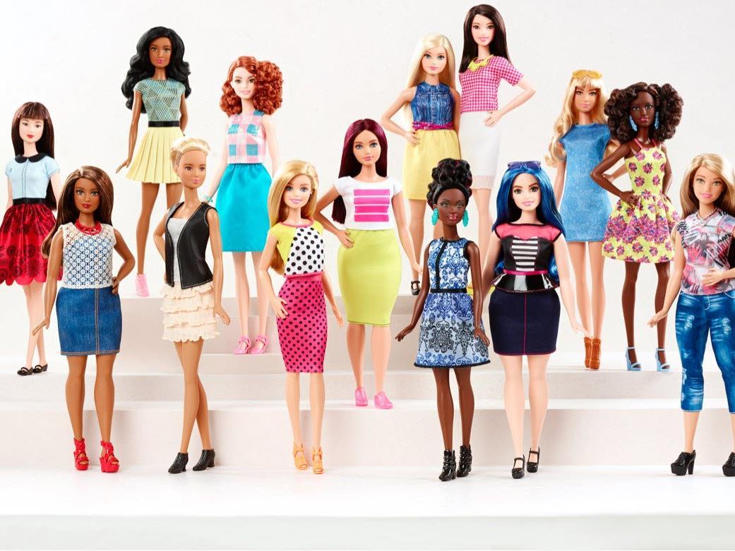 Die Barbie gibt es seit vergangenem Jahr auch in sieben verschiedenen Hauttönen