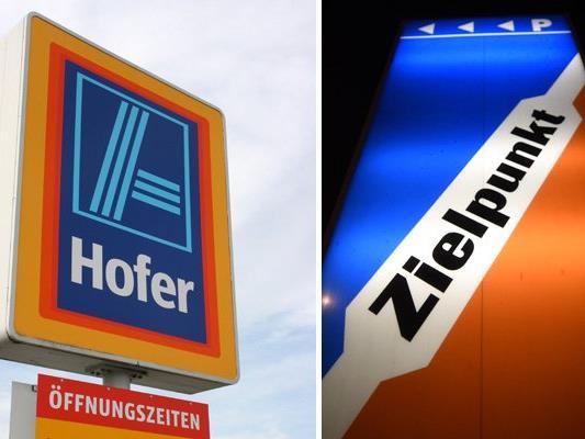 Hofer will einige Zielpunkt-Filialen übernehmen.