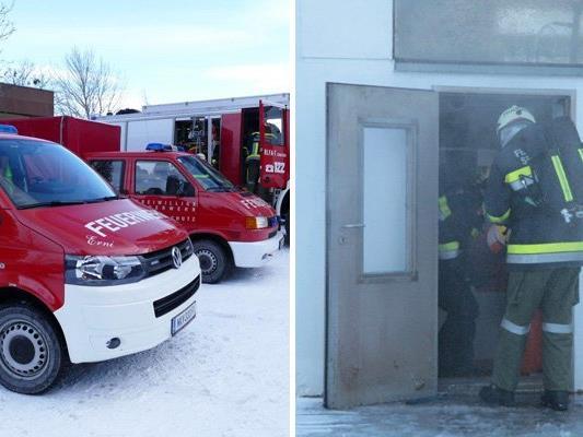 Am Dienstag wurde die Feuerwehr auf den Semmering gerufen.