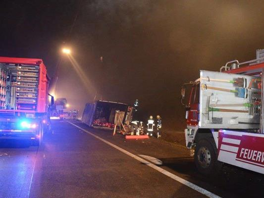 Die Feuerwehr war rund fünf Stunden im Einsatz.