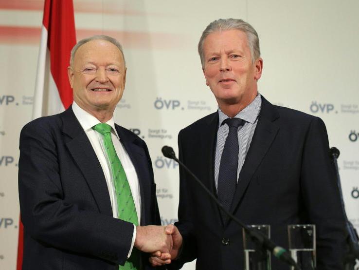 Die ÖVP setzt bei der Wahl auf Khol.