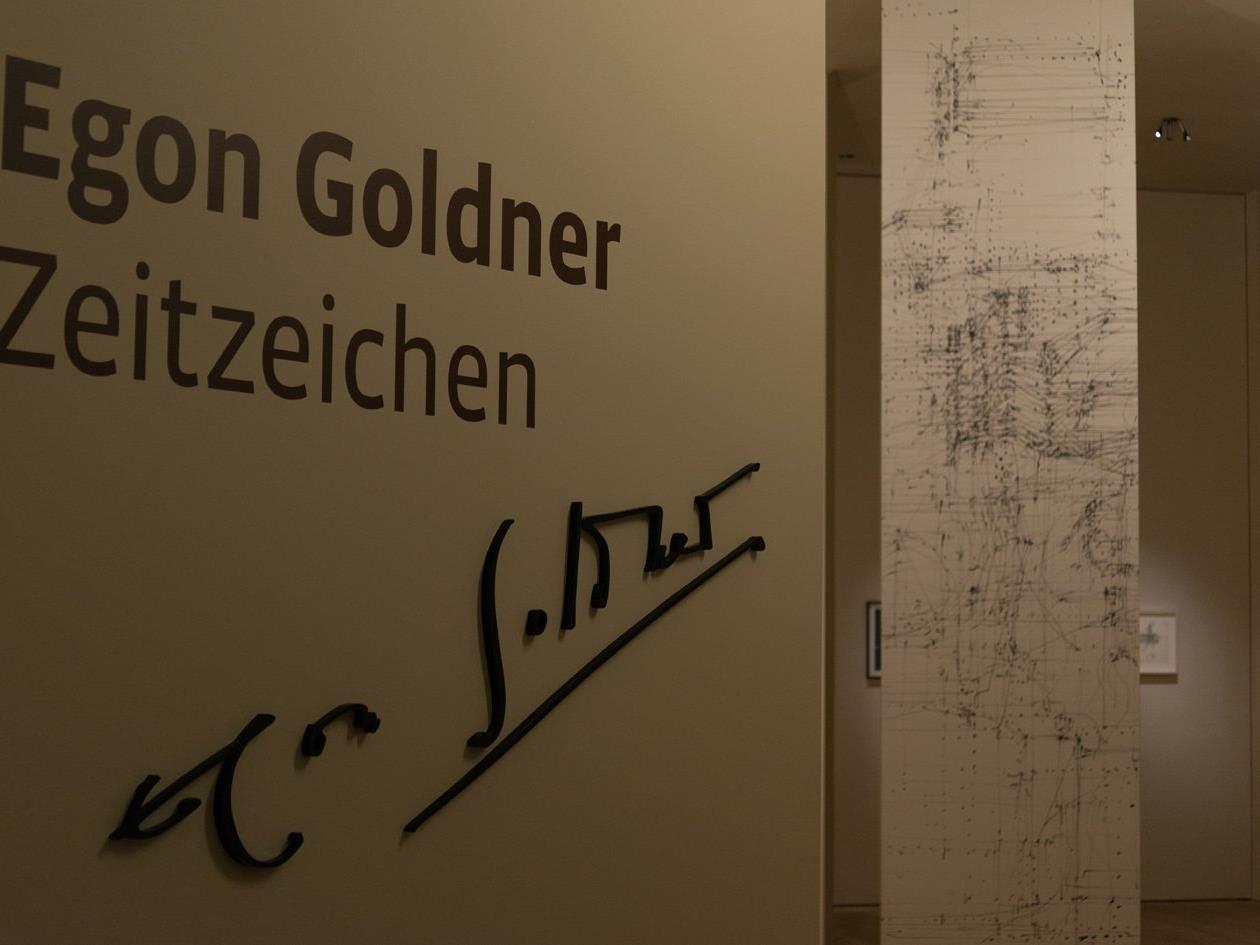 Das vorarlberg museum entdeckt den Lustenauer Egon Goldner neu.
