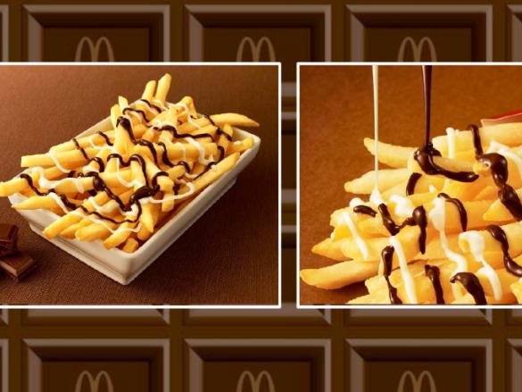 """""""McChoco Potato"""" vorübergehend im Angebot"""