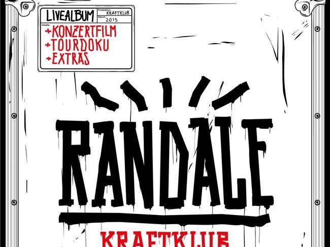 """Die Live-DVD von Kraftklub macht tüchtig """"Randale""""."""