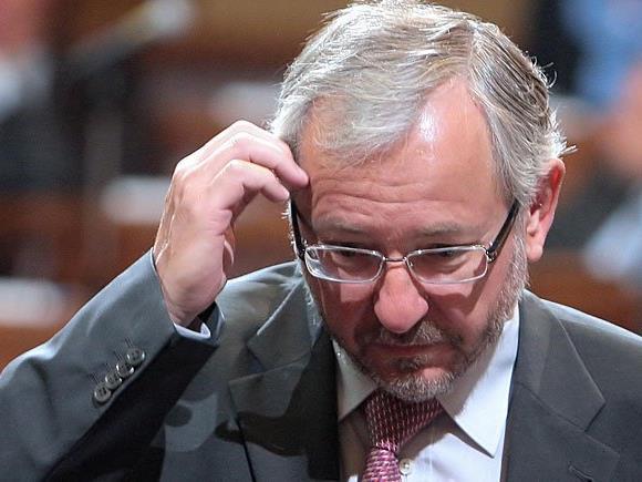Rudolf Schicker stand wegen Übler Nachrede gegen Maximilian Krauss vor Gericht