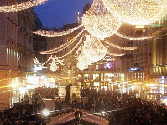 Wien vermarktet die Feiertage gekonnt.