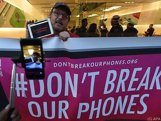 Apple bekommt Unterstützung von vielen Handybesitzern