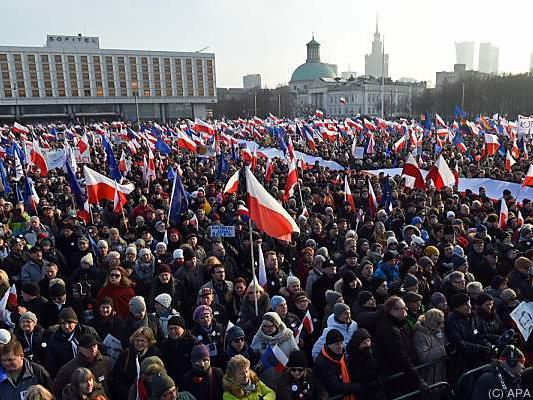 15.000 Menschen beteiligten sich an der Demonstration