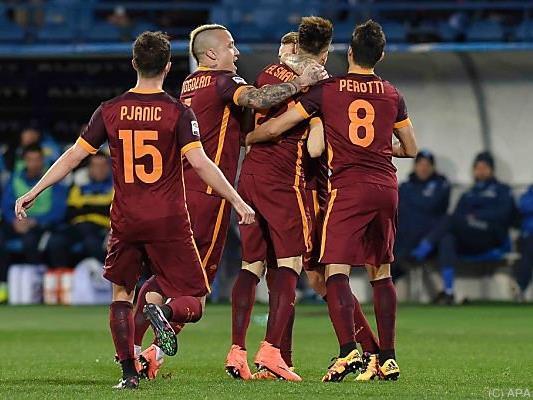 Grande Roma: Sechster Sieg in Folge für die Hauptstädter