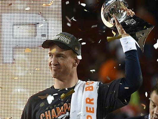 Peyton Manning verabschiedet sich als Super-Bowl-Gewinner
