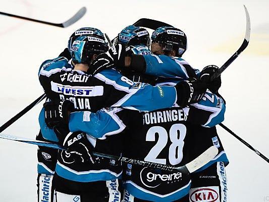 Die Black Wings Linz bezwangen Südtirol mit 4:3