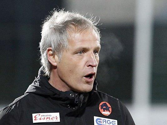 """Wolfsberg-Trainer Pfeifenberger: """"Es geht um sehr viel"""""""