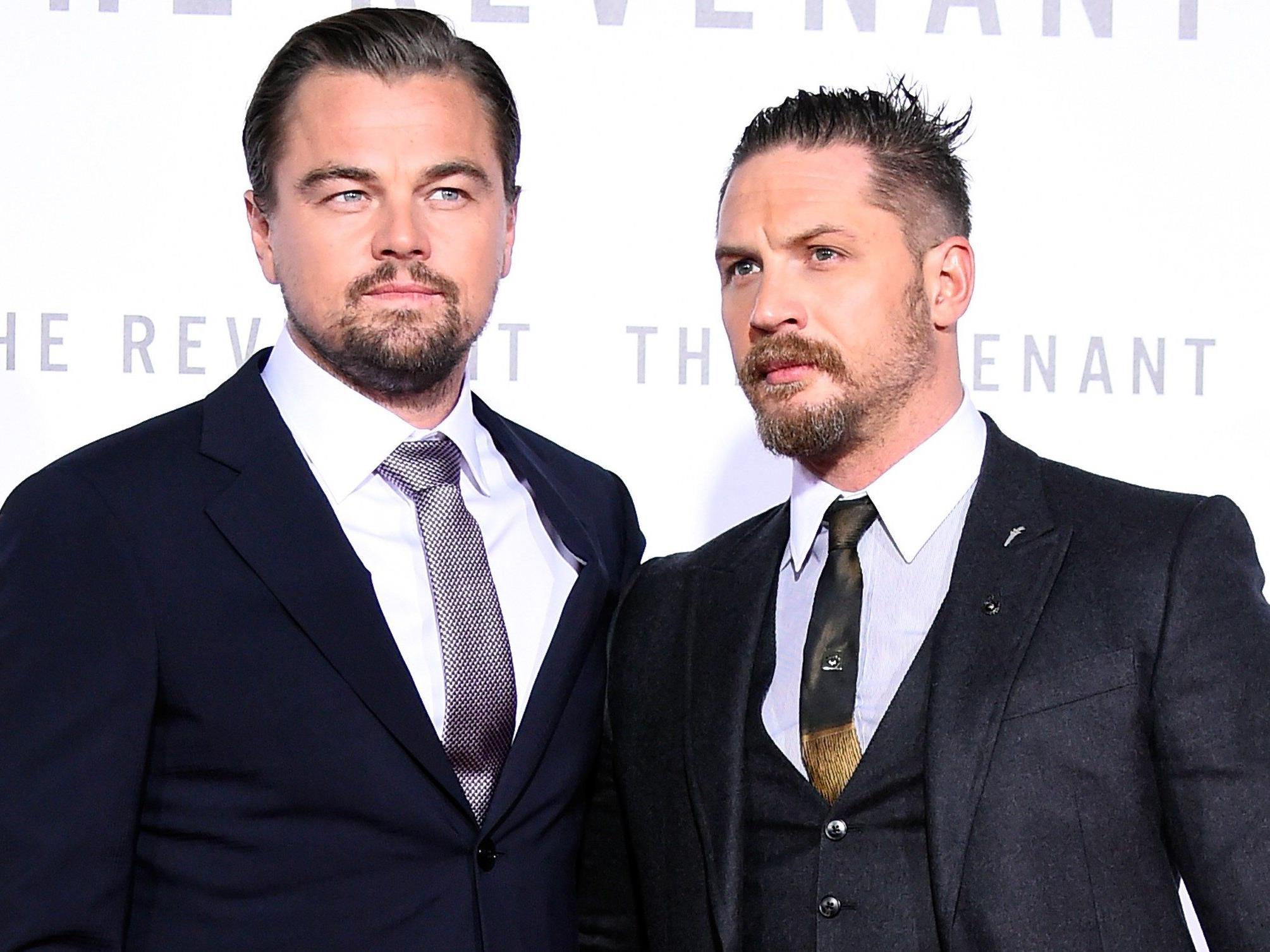 Tom Hardy und Leonardo DiCaprio sind gefragte Männer auf Google.