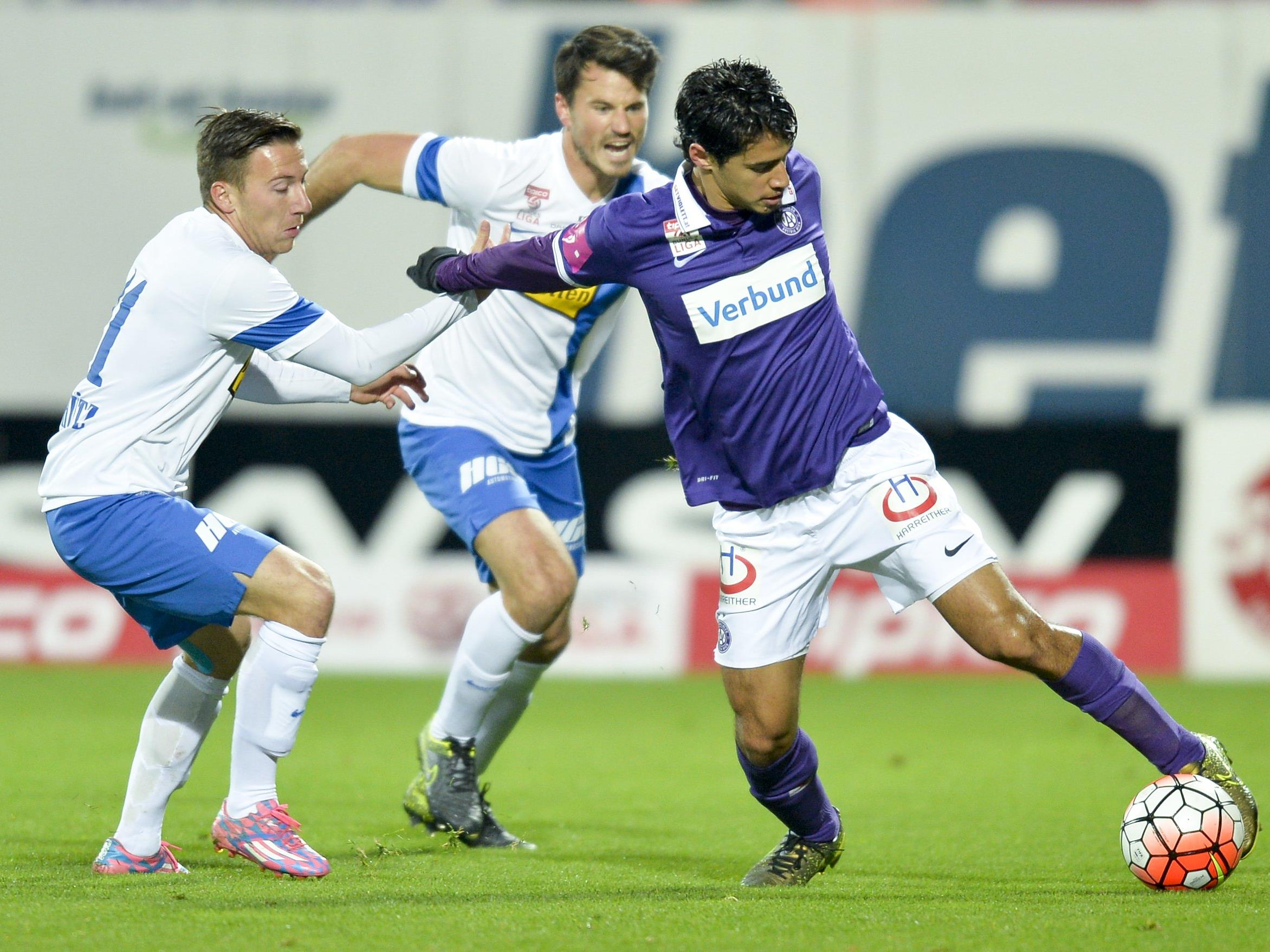 LIVE-Ticker zum Spiel SV Grödig gegen FK Austria Wien ab 18.30 Uhr.
