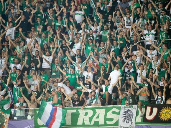 Fußball: Spanische Liga zeigte Rapid wegen Banners bei der UEFA an