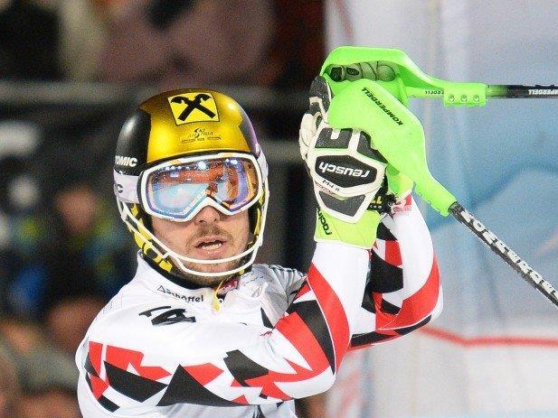 Marcel Hirscher holte sich wichtige Punkte für den Gesamtweltcup.