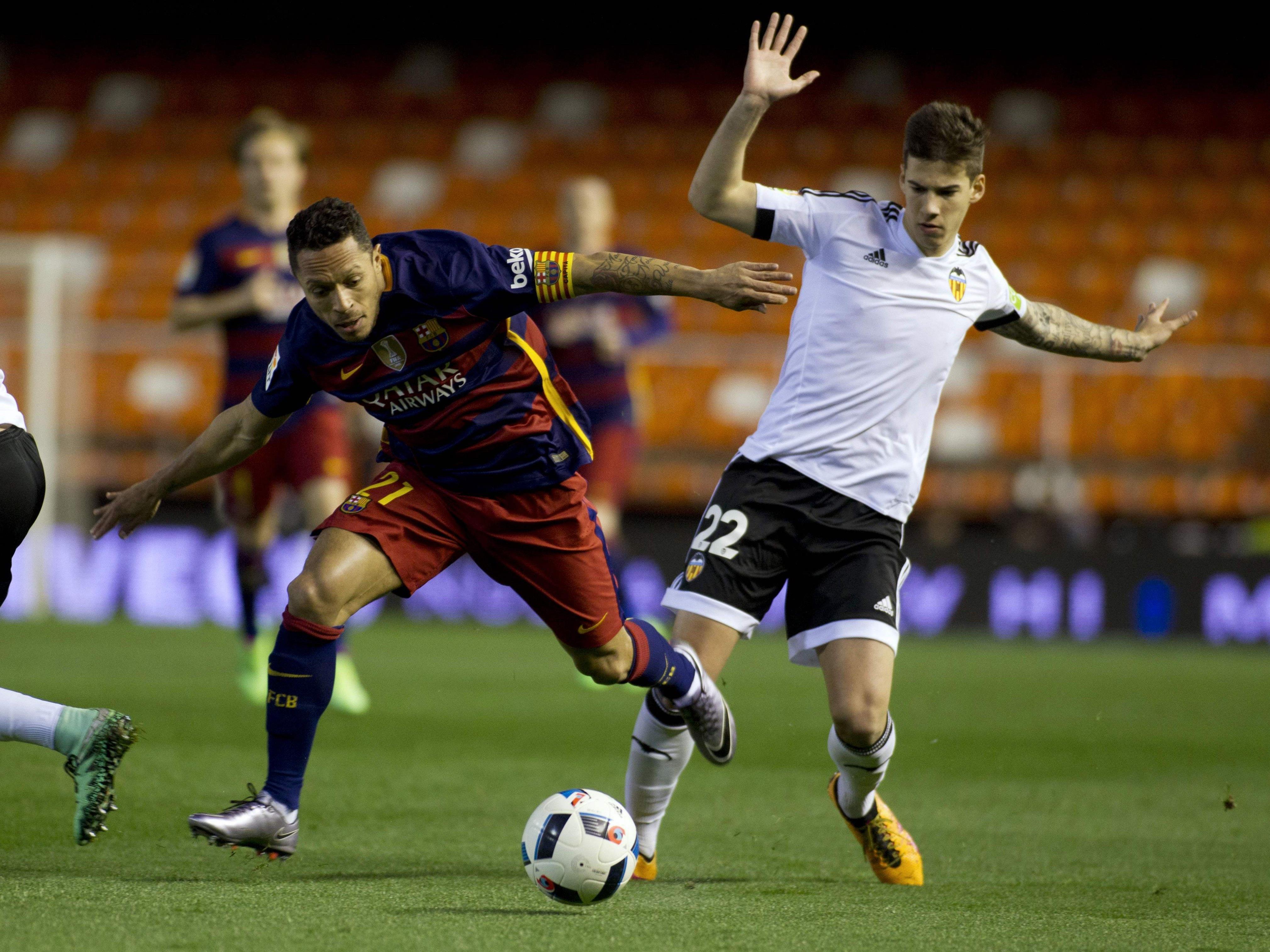 Valencia und Barcelona trennten sich im Estadio Mestalla 1:1.