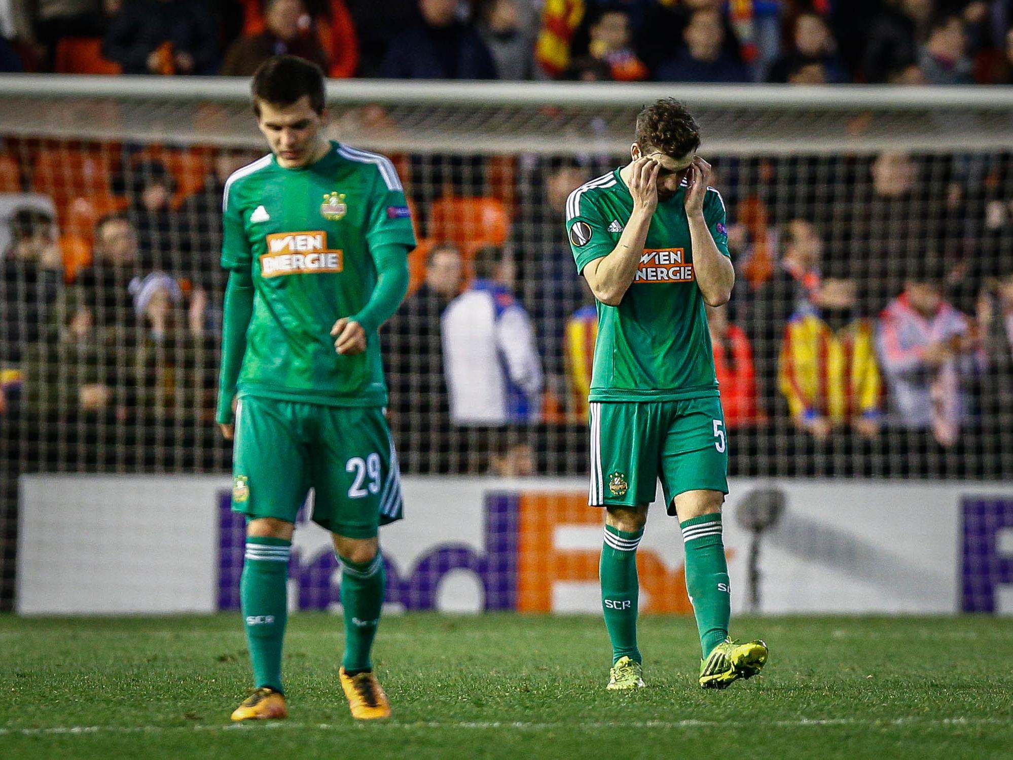 Der grün-weiße Europa-League-Traum ist jäh geplatzt.