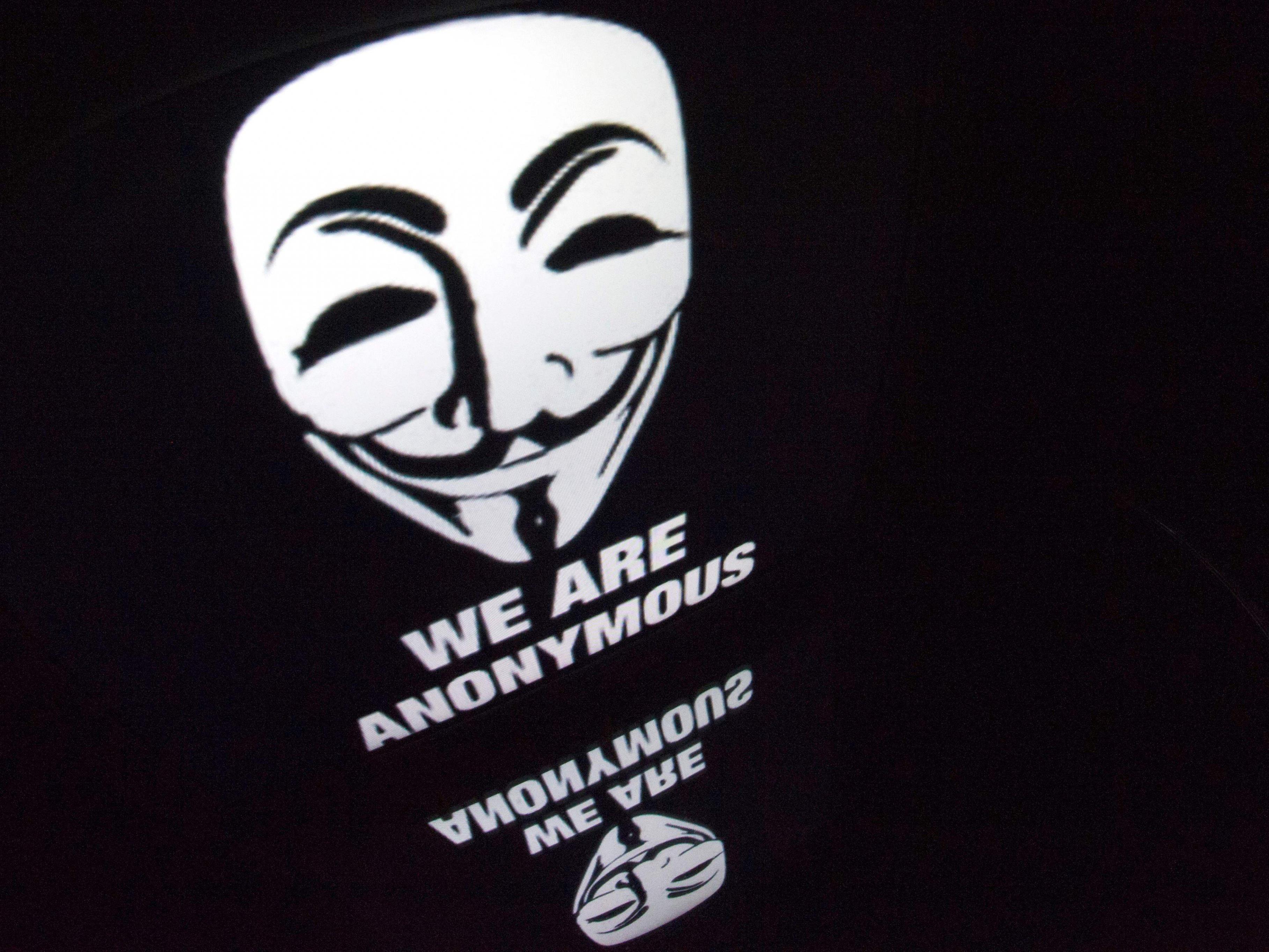 Das Logo der Anymous-Gruppierng, die auch hinter dem Trick-Posting stehen könnte.