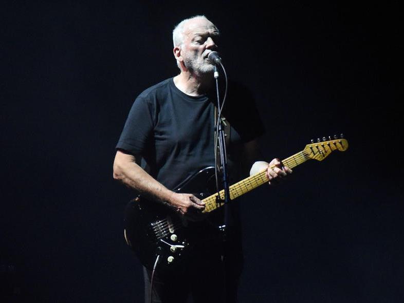Der britische Musiker David Gilmour gibt sich in Wien im Doppel die Ehre.