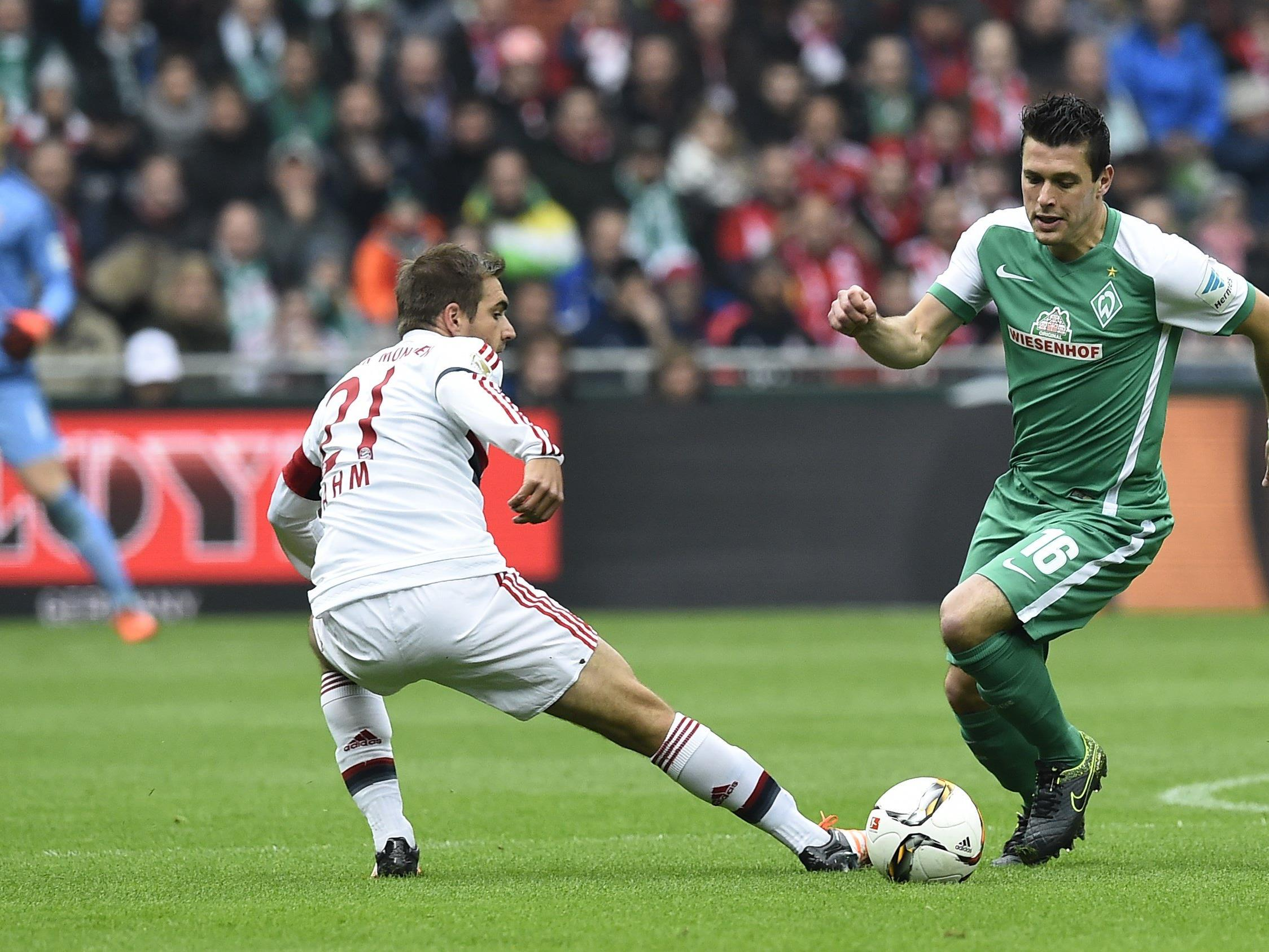 Die 20. Runde startet mit dem Gastspiel von Werder Bremen bei Mönchengladbach.