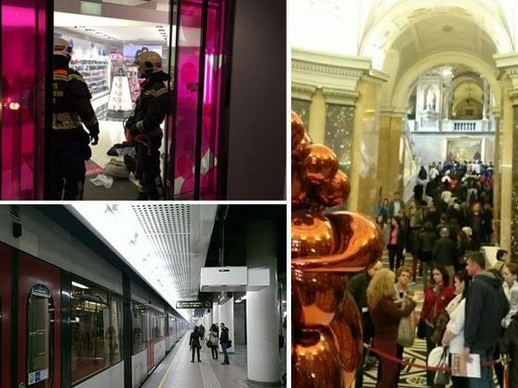 Februar-Highlights der Leserreporter: Brand beim BIPA, Feuer-Alarm in der U6-Station und Riesen-Run auf ein Event im NHM Wien