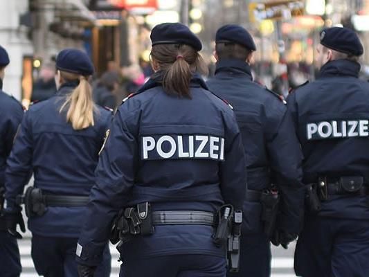 Die Polizei berichtete von der Demonstration, die in Wien endete