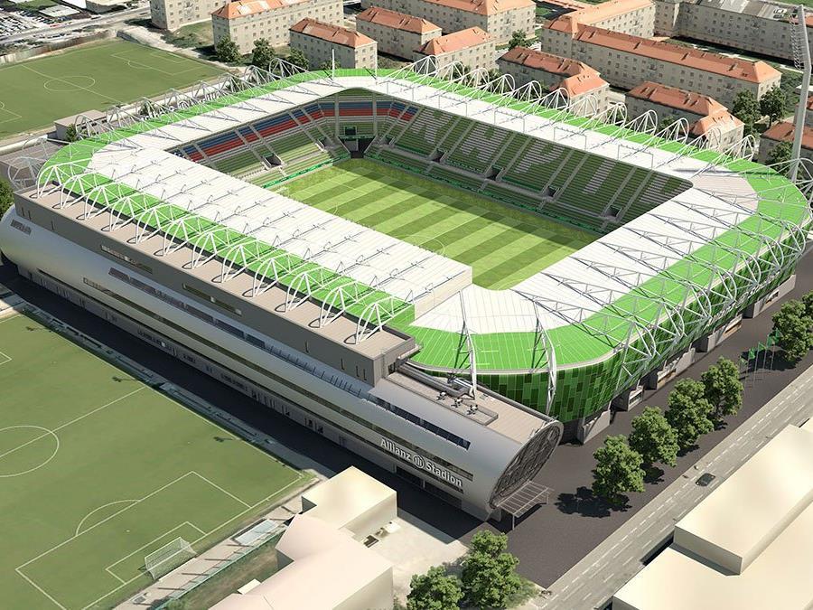 Die Finanzierung des Allianz Stadions konnte bereits wieder abgeschlossen werden.
