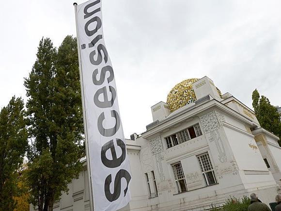 Die Goldkuppel der Secession rostet anscheinend und muss saniert werden
