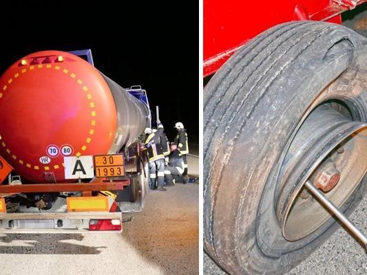 Beinahe die nächste Lkw-Katastrophe in Niederösterreich.