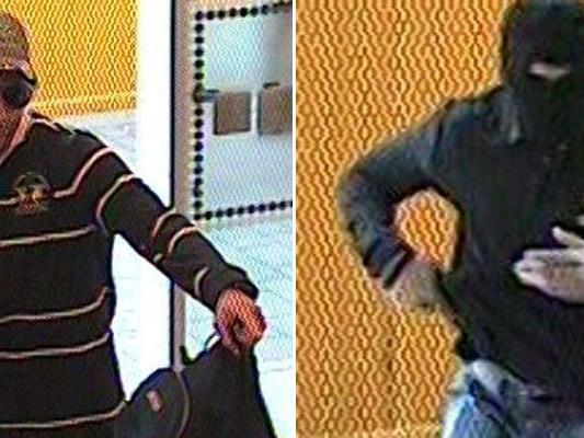 Die Polizei fahndet nach diesen beiden Männern.
