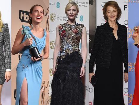 """Das sind die Anwärterinnen in der Kategorie """"Beste Hauptdarstellerin""""."""