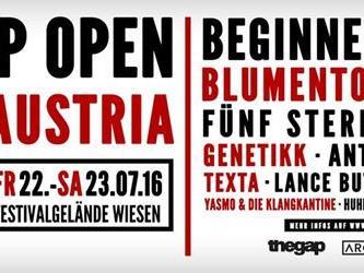 Das HipHop Open lädt wieder nach Wiesen.