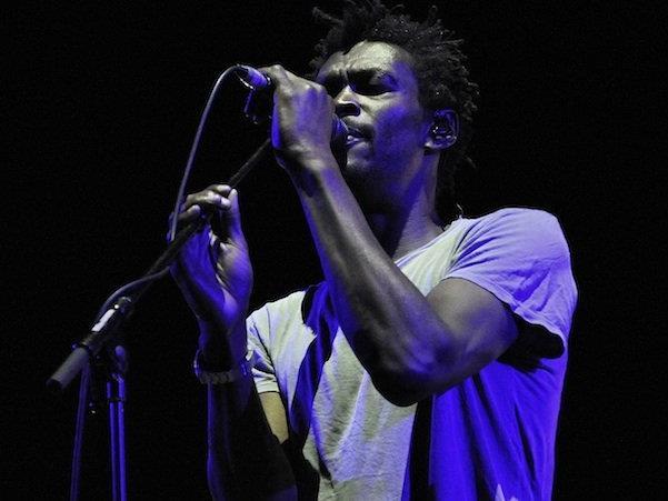 Sänger Grant Marshall von der Band Massive Attack