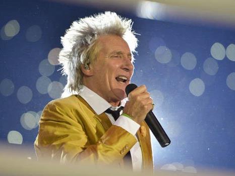 Mit Vollgas nach Wien: Rod Stewart verspricht eine große Show.