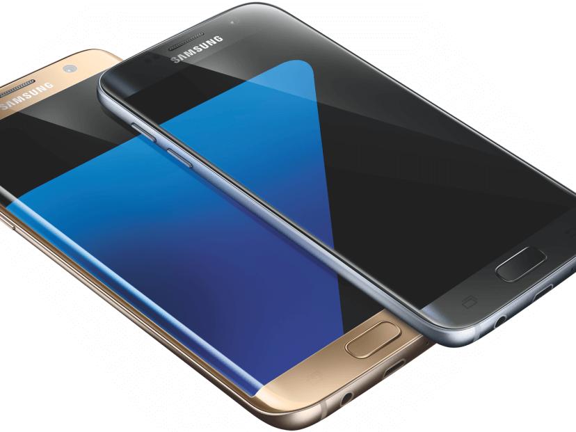 Optisch tut sich bei der Galaxy S7-Reihe nicht viel.