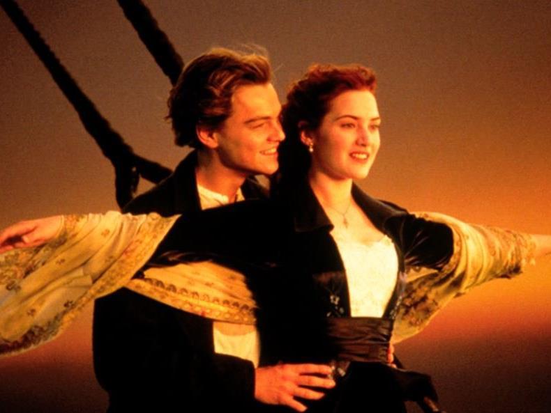 """Ein Klassiker: Der tragische Liebesfilm """"Titanic""""."""